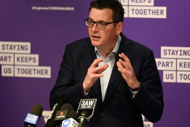 "Victoria's state premier Daniel Andrews said ""the time for leniency, the time for warnings and cautions is over"""