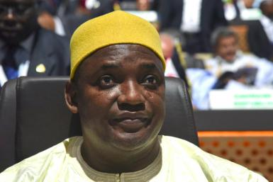 Three Gambian government ministers have tested positive for the coronavirus, with Gambian President Adama Barrow in self-isolation after his deputy got the virus