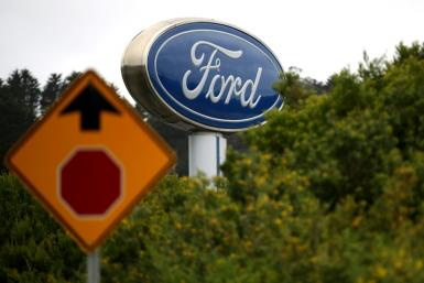 Ford shares jumped after it announced it would replace Jim Hackett as CEO with longtime auto executive Jim Farley
