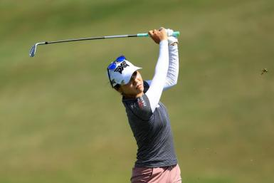 Lydia Ko finished with back-to-back birdies to take a one-shot lead at the LPGA Marathon Classic in Ohio on Friday