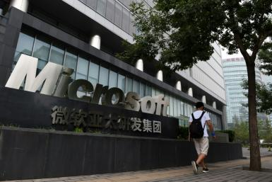 Microsoft arrived in China in 1992 and now employs around 6,200 in the region