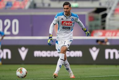 Alex Meret of SSC Napoli