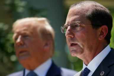 US Health Secretary Alex Azar will meet with Taiwan President Tsai Ing-wen during a three-day visit to the self-ruled island