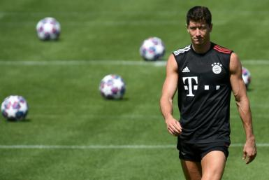 Bayern Munich striker Robert Lewandowski is one of those who would have been a major contender to win the Ballon d'Or this year, but the award has been cancelled for 2020 due to the pandemic