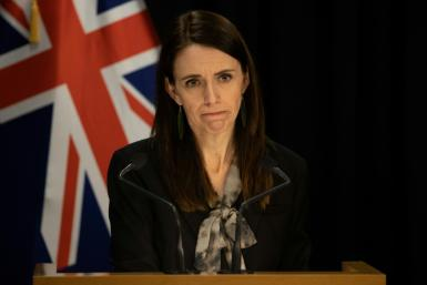 Jacinda Adern said the coronavirus outbreak could force next month's elections to be postponed