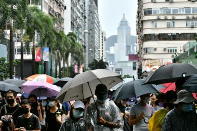 Large-scale protests hit Hong Kong from mid-2019