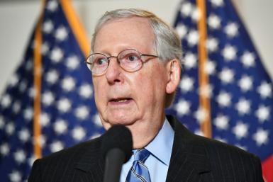 Mitch McConnell poured cold water on hopes US lawmakers will reach an agreement on a new stimulus any time soon, fanning concerns about the world's number-one economy