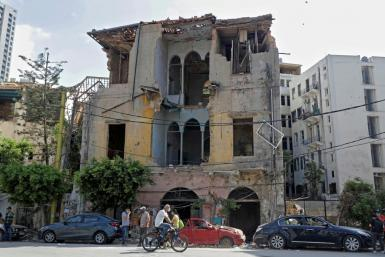 The explosion ripped through districts of Beirut that had been close to the front lines during Lebanon's 15-year civil war