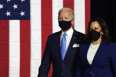Kamala Harris sought to tap into the nationwide upheaval over police violence and racial disparities as she and Joe Biden launched their joint White House campaign