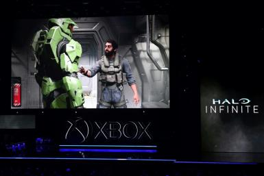 Microsoft was already promoting Halo Infinite at the E3 gaming convention in Los Angeles last year
