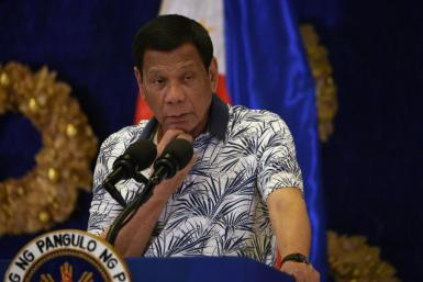 Rodrigo Duterte has expressed 'huge trust' in Russia's efforts to stop the contagion