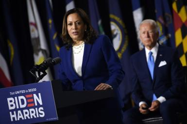 With Joe Biden leading in polls, his choice of the more centre-ground Kamala Harris as his running mate was met with relief on markets
