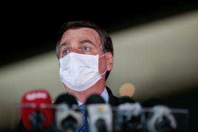 Brazilian President Jair Bolsonaro has seen his ratings rise on the back of coronavirus stimulus payments, despite the deaths of more than 105,000 people in Brazil from the disease