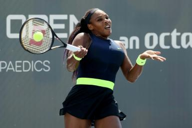 Serena Williams was upset by 116th-ranked Shelby Rogers on Friday in a quarter-final of the WTA Top Seed Open at Lexington, Kentucky