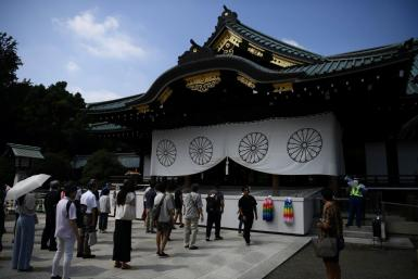The Yasukuni shrine is seen by Japan's neighbours as a symbol of Tokyo's past militarism