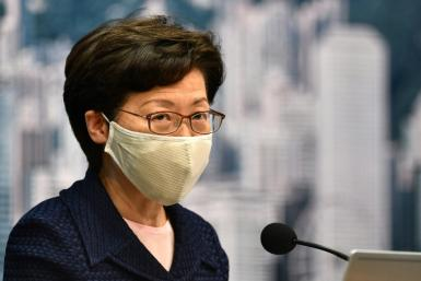 Hong Kong Chief Executive Carrie Lam said the college was Lam said she was 'smearing a person on the basis of hearsay instead of facts'