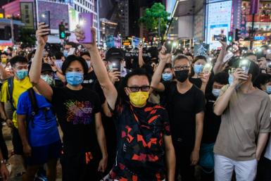 Hong Kong has been affected by months of huge and often violent pro-democracy protests
