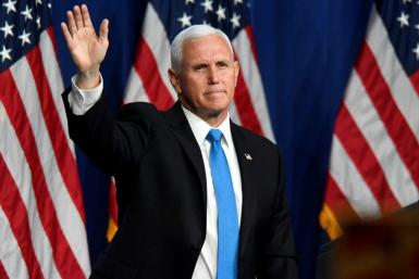 US Vice President Mike Pence will give the main speech on day three of the Republican convention