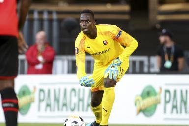 Goalkeeper of Stade Rennais Edouard Mendy