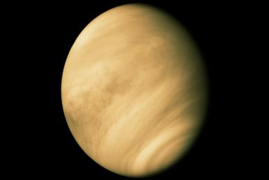 "Conditions on Venus are often described as ""hellish"" with daytime temperatures hot enough to melt lead and an atmosphere comprised almost entirely of carbon dioxide"