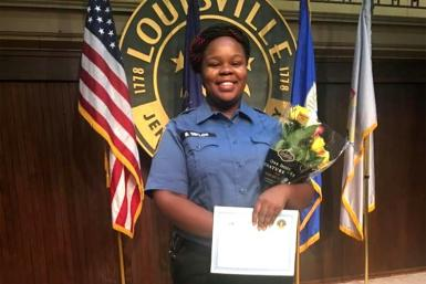 """Breonna Taylor was killed on March 13, 2020 when three plainclothes police officers executing a """"no knock"""" search warrant burst into her apartment in Louisville, Kentucky late at night"""