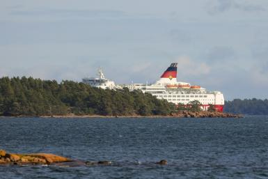 The Amorella does daily trips from Stockholm to Turku in Finland