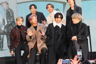 BTS Celebrity Sightings In New York