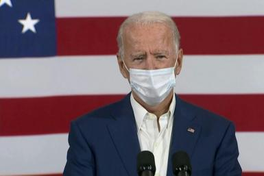 In a campaign speech, Joe Biden blasts Donald Trump's handling of the coronavirus pandemic, in which 200,000 have died in the US