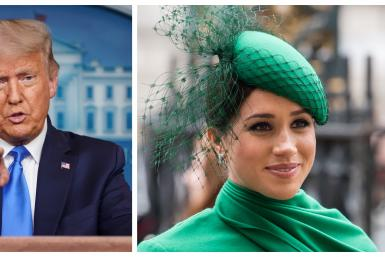 Donald Trump vs Meghan Markle