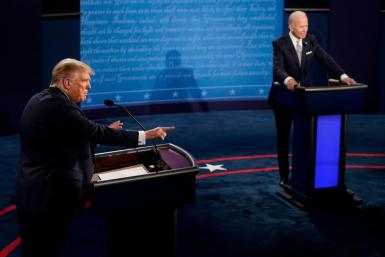 While traders were keeping an eye on the presidential debate, there was little early reaction on markets to the conclusion