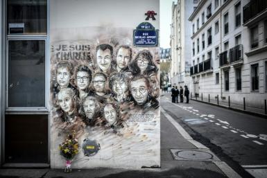 The street where Charlie Hebdo journalists and cartoonists were gunned down at their offices in 2015 was the scene of a recent knife attack.