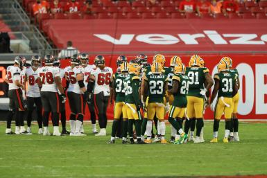 Green Bay Packers Tampa Bay Buccaneers