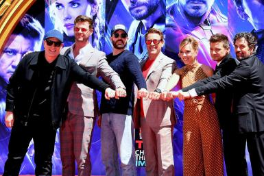 "The cast of ""Avengers"""
