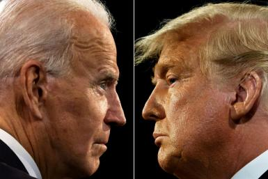 "Democratic presidential candidate Joe Biden has dismissed Donald Trump's ""photo-ops"" with Kim as a ""vanity project"""