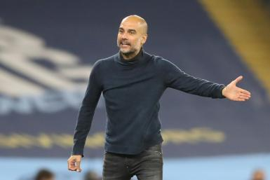 Pep Guardiola's Manchester City are favourites to win the Premier League title despite a slow start