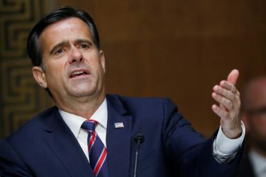 US Director of National Intelligence John Ratcliffe says Iran was behind threatening emails sent to Democratic voters