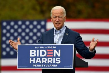 Democratic presidential candidate Joe Biden has savaged President Donald Trump, saying the Republican leader has given up trying to fight the coronavirus pandemic