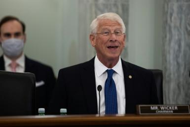 Senator Roger Wicker was to chair a hearing with CEOs of Google, Twitter and Facebook examining a law which shields online services from liability of content posted on their platforms