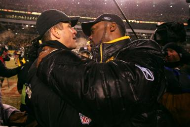 Pittsburgh head coach Mike Tomlin and Baltimore counterpart John Harbaugh will mark their 25th regular season meeting on Sunday