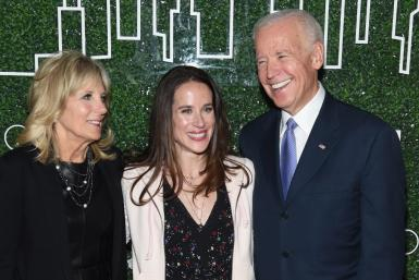 Jill Biden, Ashley Biden, Joe Biden