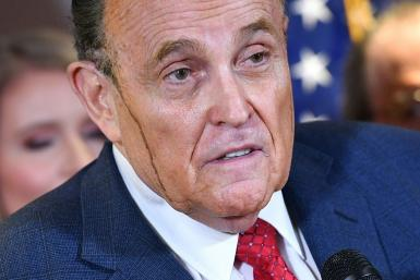 the president's lawyer Rudy Giuliani