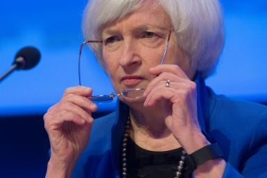Former Federal Reserve chair Janet Yellen -- seen here in October 2017 -- is Joe Biden's pick to be the next Treasury Secretary
