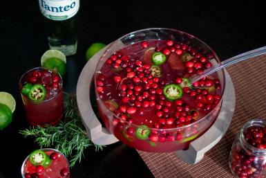 Jalapeño Cranberry Punch
