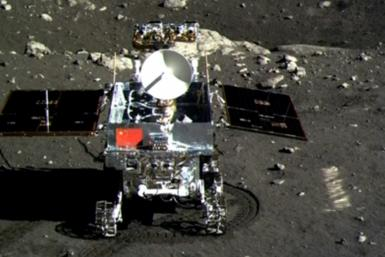 The Jade Rabbit lunar rover surveyed the moon's surface for 31 months