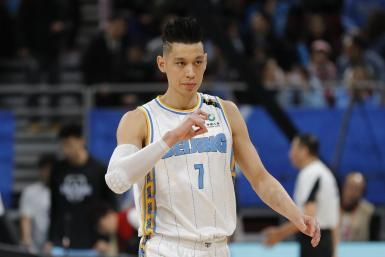 Jeremy Lin #7 of Beijing Ducks