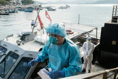 Hong Kong is experiencing a spike in cases of the Covid-19 coronavirus