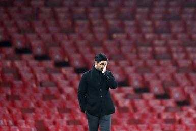The pressure mounted on Arsenal manager Mikel Arteta after a 1-0 home defeat to Burnley