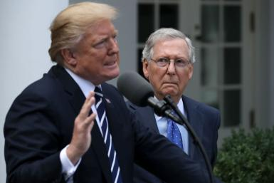 Donald Trump - Mitch McConnell