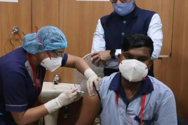 India has kicked off one of the world's largest coronavirus vaccination drives as the pandemic spread at a record pace and global Covid-19 deaths surged past two million. India, home to 1.3 billion people, has the world's second-largest caseload. The gove