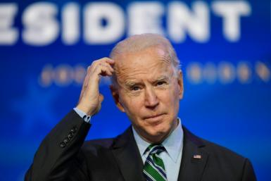 Traders are keeping tabs on Washington as Joe Biden prepares to take over the US presidency Wednesday after proposing a $1.9 trillion economic rescue package
